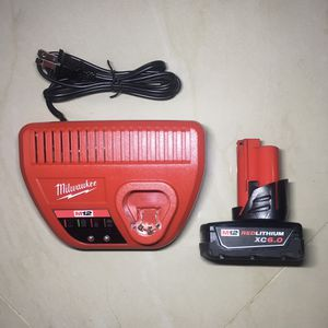 Brand New Milwaukee Xc6.0 Battery Charger for Sale in Hollywood, FL