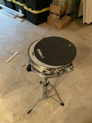 Yamaha snare with xylophone and ahead practice pad for Sale in Aspen Hill, MD