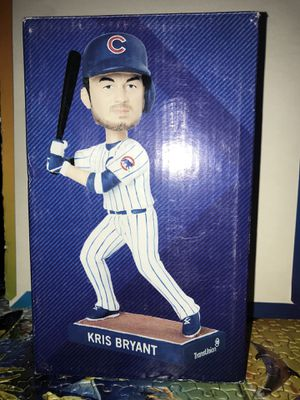 Kris Bryant Rookie year Bobblehead for Sale in Glenview, IL