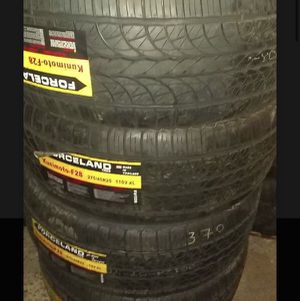 Forceland tires 275 45 20 for Sale in Phoenix, AZ
