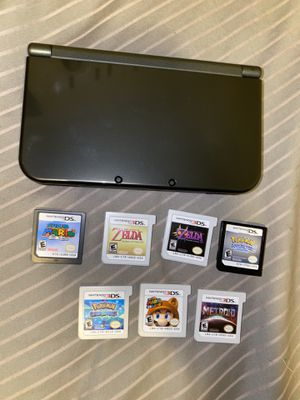 Nintendo New 3DS XL with 7 games for Sale in Austin, TX