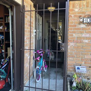 Front Metal Security Door for Sale in Houston, TX