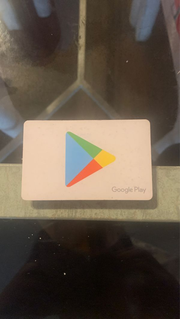 Google play card with 500$