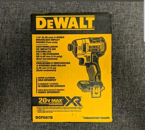 Dewalt XR drill new 20v tool only for Sale in Arlington, VA