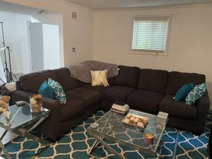 Grey Large Sectional for Sale in Riverdale, GA