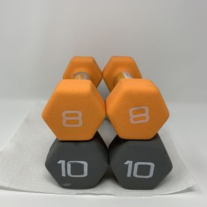 Cap Weight Dumbells 8lb & 10lb for Sale in Wadsworth, OH