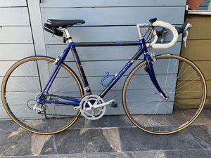 Road bike trek aluminum. #52 shimano 105. And campagnolo. With tubular victoria for Sale in Hialeah, FL