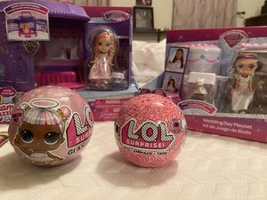 Various Girl Toys (LOL, Dream Dazzlers, etc) for Sale in Rockville, MD