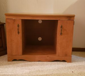 Wood TV stand for Sale in McKean, PA