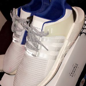 MENS ADIDAS ULTRABOOST EQT SUPPORT ROYAL BLUE AUTHENTIC PRIMEKNIT SIZE 11.5 MENS for Sale in Smyrna, GA