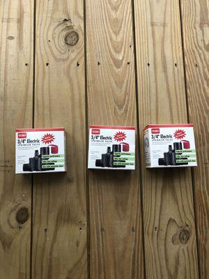 3, Toro 3/4 Electric Sprinkler Valves! for Sale in Norwood, MA