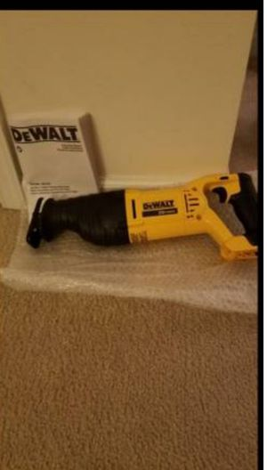 NEW Dewalt 20v MAX reciprocating saw sawz all for Sale in Ashburn, VA