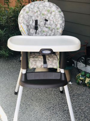 Graco Simpleswitch Portable High Chair and Booster, Zuba, One Size for Sale in Bothell, WA