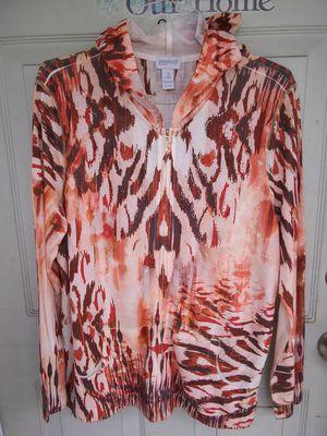Cute Womens size XL Zip Up Hoodie Jacket ($4) for Sale in BRECKNRDG HLS, MO