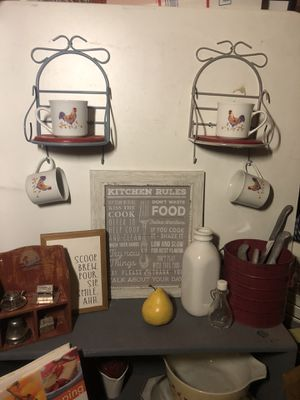 Various farmhouse kitchen items for Sale in Oregon City, OR