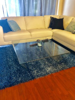 Glass 4x4 Coffee Table. Originally purchased at EL Dorado Furniture. Asking $400 or best offer? for Sale in Miramar, FL