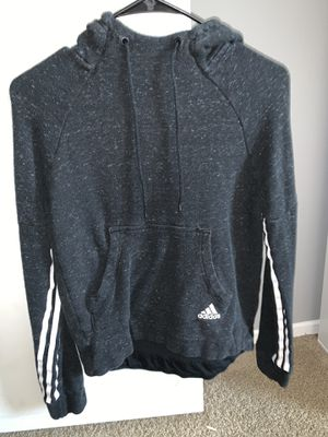 Adidas hoodie black and white for Sale in San Jacinto, CA