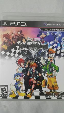 KINGDOM HEARTS HD 1.5 REMIX FOR PS3 for Sale in Miami Gardens,  FL
