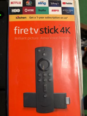 Brand New Fire TV 4K Streaming Devive. With Alexa Sealed Pack for Sale in Sammamish, WA