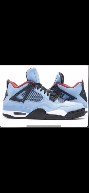 JORDAN 4 TRAVIS SCOTT for Sale in Steubenville, OH