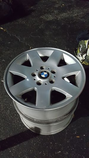 2 bmw rims e46 e36 for Sale in Hollywood, FL