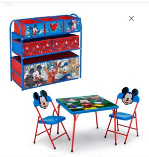 Table $40 toy organizer $35 for Sale in San Leandro, CA