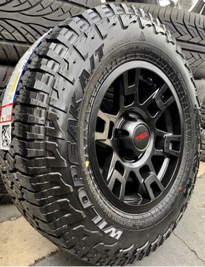 """17"""" TRD Replica Wheels & Tires Package for Sale in Huntington Beach, CA"""