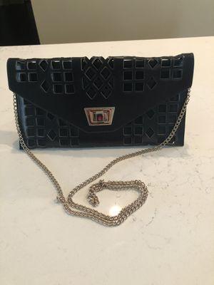 Faux leather black crossbody purse for Sale in Seattle, WA