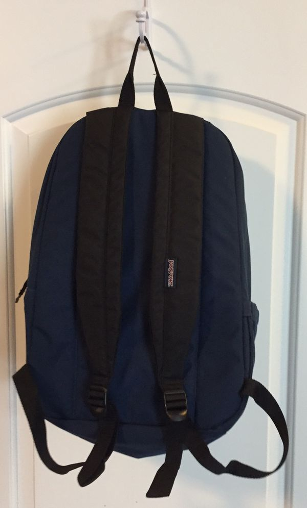 Jansport Backpack, Classic Style, Navy Blue for Sale in Columbus, OH -  OfferUp