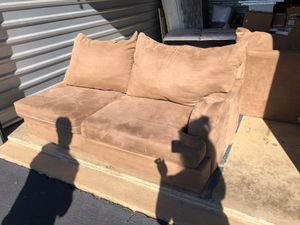 2 piece sectional chaise lounge sofa for Sale in Trenton, NJ