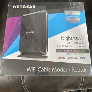 New NETGEAR Nighthawk AC1900 WiFi DOCSIS 3.0 Cable Modem Router (C7000) for Sale in Sioux Falls, SD