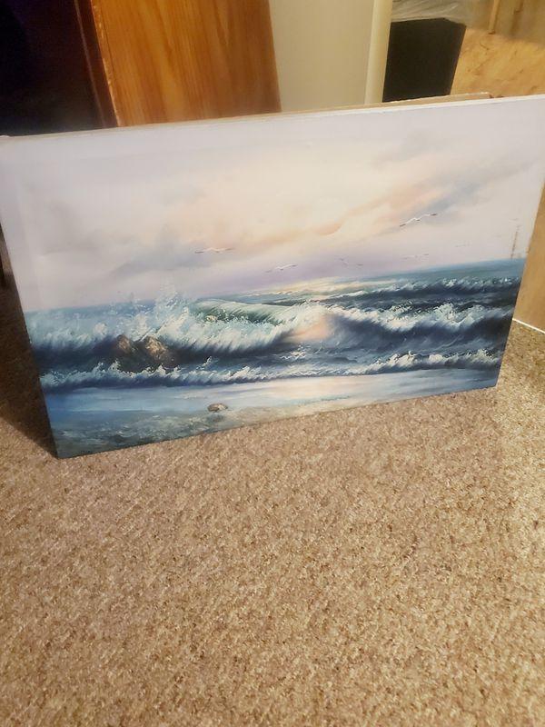 OCEAN VIEW CANVAS ART
