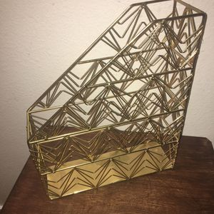 Office organizer Gold Metal for Sale in Issaquah, WA