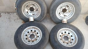 Used trailer tires and wheels for Sale in Corona, CA