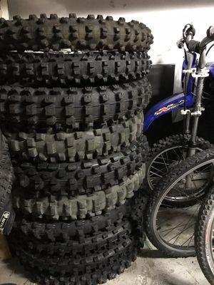 Offroad motorcycle tires Dunlop Michelin Kenda Pirelli for Sale in Costa Mesa, CA