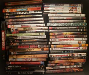 321 DVD Movies. Many unopened. Excellent Play. for Sale in Alta Loma, CA