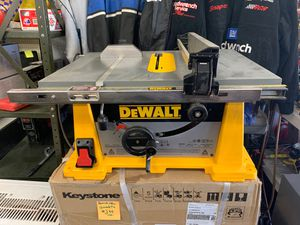 """DeWalt DW744 10"""" Table Saw for Sale in Columbus, OH"""