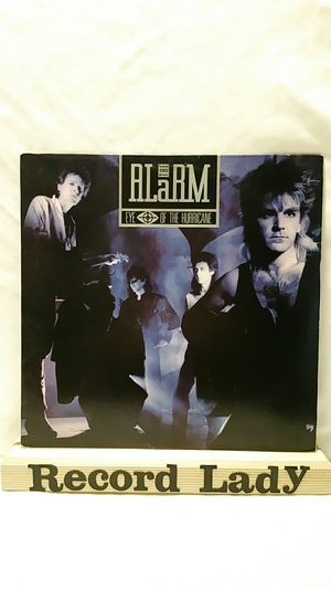 """The Alarm """"Eye Of The Hurricane"""" vinyl record Rock for Sale in San Diego, CA"""