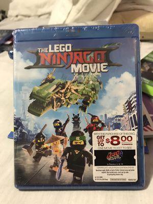 The Lego Ninjago Movie - BluRay DVD for Sale in Fontana, CA