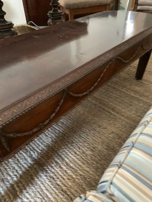 Antique wooden coffee table for Sale in New York, NY