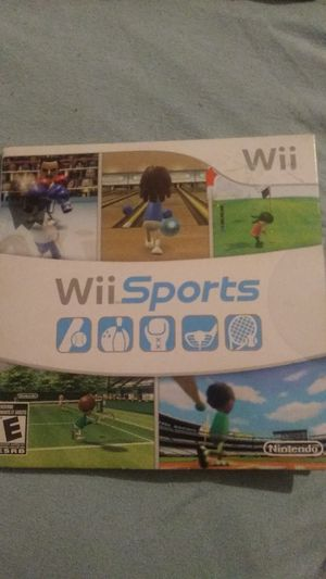 Wii sports for Sale in Garden Grove, CA