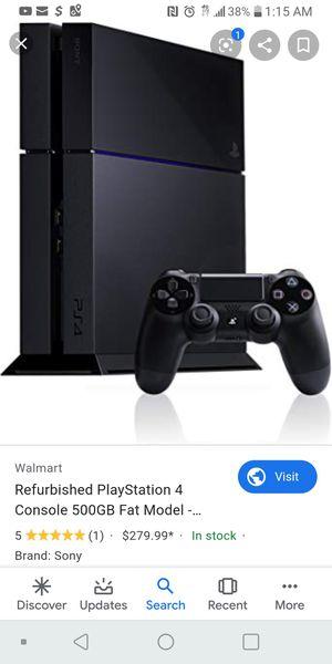 PlayStation 4 for Sale in Carrollton, TX