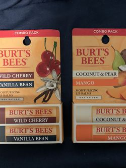 Burts Bees Lil Balm, 2 Combo Packs for Sale in Delmar,  NY