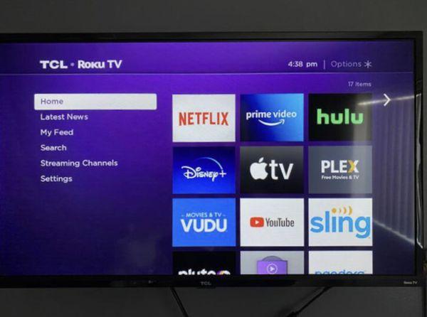 """TCL Roku 32"""" TV"""
