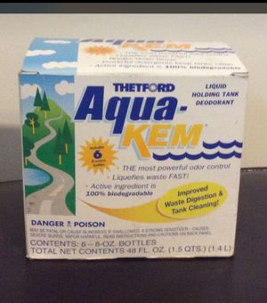 Thetford Aqua-kem/ tank cleaning & waste digestion for Sale in Columbia, MO