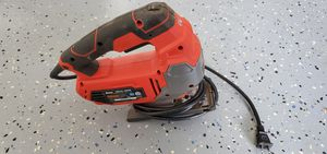 Bauer 6.5 Amp Heavy Duty Tool-Free Variable Speed Orbital Jig Saw with Laser 64290 for Sale in Chesnee, SC