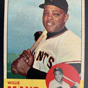 1963 Willie Mays Topps Baseball card #300 San Francisco Giants for Sale in Yorba Linda, CA