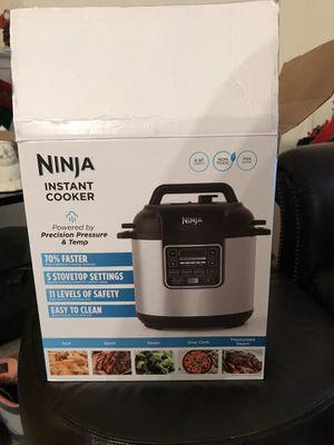 Ninja Pressure Cooker BRAND NEW for Sale in Rochester Hills, MI