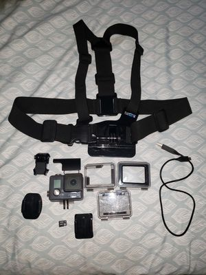 GOPRO HERO+ LCD w/64GB sd card, chest mount and generic travel case. for Sale in Queens, NY