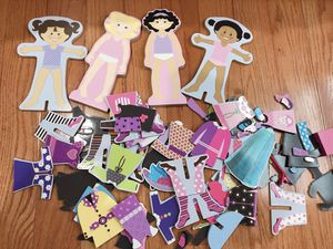Magnetic Wooden Dress-Up Dolls Toy for Sale in Fairfax, VA